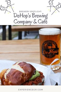 Brewery Spotlight  DeHop s Brewing Company and Café - click and save this  pin to see 083f94d9ab89