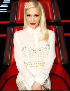 Gwen Stefani's Stylists Reveal Why Her Looks on The Voice Were Completely Different - Crisp Layers  - from InStyle.com