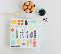 #RECIPE ORGANISER: LET'S EAT