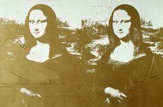 Andy Warhol, Two Golden Mona Lisa, c 1970