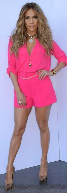 Just ordered this hot pink romper from her kohls line! Wow she is mindblowing gorgeous !love her!!