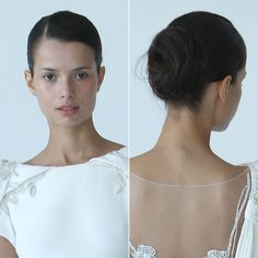 Wedding Hairstyles From The Fall 2012 Runways