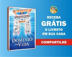 ALEGRIA DE VIVER E AMAR O QUE É BOM!!: BRINDES E AMOSTRAS GRÁTIS #15 - LIVRETO O DOMÍNIO ...