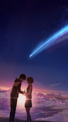 Your Name Wallpaper by Saberramen - 34 - Free on ZEDGE™ now. Browse millions of popular kimi no na wa Wallpapers and Ringtones on Zedge and personalize your phone to suit you. Browse our content now and free your phone Anime Backgrounds Wallpapers, Anime Scenery Wallpaper, Animes Wallpapers, Mitsuha And Taki, Kimi No Na Wa Wallpaper, Reborn Anime, Your Name Wallpaper, Your Name Anime, Your Name Movie
