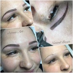 DermaArt Natural Brows•eyebrow tattoo•permanentmakeup•www.brisaart.hu🇭🇺