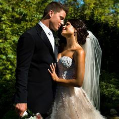 Channing Tatum and Jenna Dewan.... She has to be the luckiest girl alive