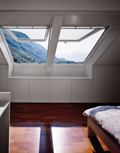 Classic Sand- Manual Light Filtering blind for Fixed Curb Mount Skylight FCM 2222 - single pleated Attic Renovation, Attic Remodel, Attic Rooms, Attic Spaces, Style At Home, Shed House Plans, Romantic Bedroom Decor, Bedroom Ideas, Pastel Room