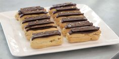 Salted caramel and chocolate is a delicious combination in this amazing afternoon treat.