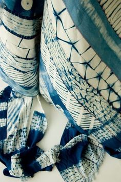 INSPIRED DESIGN: Textile Tuesday: Japanese Shibori