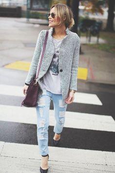 Street Style-love the coat