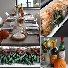 Thanksgiving is stressful enough — let us help you organize and plan a menu and tablescape that is sure to wow your family and friends without wearing you out! Start by taking a look at this Thanksgiving planner. Then calculate how much food you need per person using this handy infographic. Now, you're ready to view and print our easy Thanksgiving recipes, done in seven ingredients or fewer.