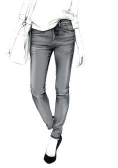 Libellés : denim, dessin, diesel café, Fashion, flare, hymne au denim, Illustration, jeans, mode, Printemps, skinny, slim, straight