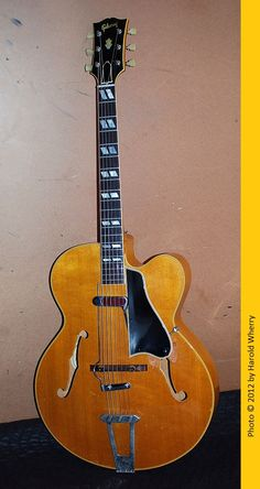 "1952 Gibson L7C Acoustic Archtop Guitar fitted with a DeArmond ""Rhythm Chief"" Pickup/Model 1000"