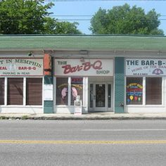 Bar-B-Que Shop, Memphis, TN.This small joint is known for a killer piled-high pork sandwich on Texas toast, and for its barbecue spaghetti, a local favorite consisting of noodles, sauce and pork.