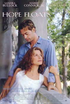 Hope Floats is a 1998 American romantic drama film directed by Forest Whitaker, and starring Sandra Bullock, Harry Connick, Jr. See Movie, Movie List, Movie Tv, Sandra Bullock, Old Movies, Great Movies, Indie Movies, Comedy Movies, Drama Movies