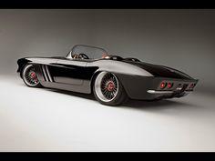 Vehicles - 1962 Chevrolet Corvette  - Vehicle - Car - Chevrolet - Corvette Wallpaper