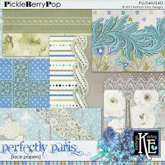 Perfectly Paris Lace Papers