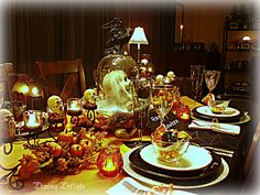 Dining Delight: Halloween in the Dining Room
