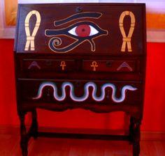 escritorio ejipcio