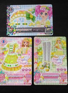 "Trading card of Japanese Idol Animation ""AIKATSU"" Dandelion coord 47 (Promo)"