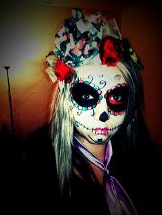 Haloween make up 2014 :)