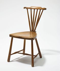 Anonymous after an English example: Chair model used by Adolf Loos e. g. in the Otto and Olga Beck residence (1908) and the Grethe Hentschel residential studio (1914). Hummel collection, Vienna. Photo © MAK/Georg Mayer.