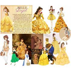 """""""Princess Belle"""" by pet387 on Polyvore"""