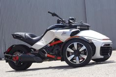 The Three-Wheeler, Evolved: The 2015 BRP Can-Am Spyder F3 wears a new, low-profile silhouette.