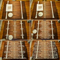 moroccan stencils for furniture - Google Search