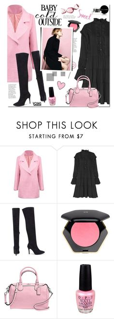 """""""Yoins.com"""" by mada-malureanu ❤ liked on Polyvore featuring H&M, Coach, OPI, Bobbi Brown Cosmetics, women's clothing, women's fashion, women, female, woman and misses"""