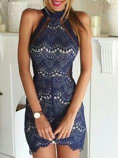 dress navy blue black lace lace dress cute dress short dress white blue dress homecoming dress homecoming