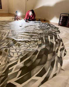 Holly Wong (@hollywongart) • Instagram photos and videos Artist At Work, Animal Print Rug, Comforters, Blanket, Photo And Video, Bed, Videos, Table, Photos