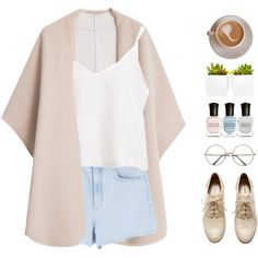 A fashion look from July 2015 featuring MANGO, H&M oxfords and Retrò eyeglasses. Browse and shop related looks.