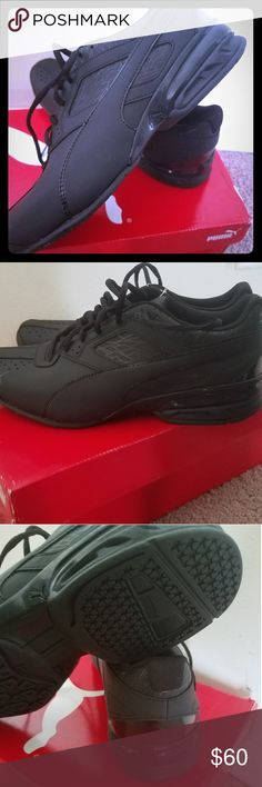Men size 9.5 puma tazon 6 fracture (black) New pair of shoes! Puma Shoes Athletic Shoes