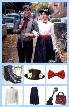 2019 halloween costumes Marry Poppins Costume to bad my husband will never agree to do it Heirate Poppins Kostm, schade, mein Mann wird niemals zustimmen, es zu tun Mary Poppins Halloween Costume, Cool Couple Halloween Costumes, Best Couples Costumes, Easy Costumes, Family Costumes, Disney Halloween, Mary Poppins And Bert Costume, Easy Diy Halloween Costumes For Women Last Minute, Mary Poppins Hat