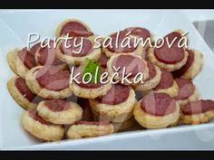 PÁRTY salámová kolečka | NejRecept.cz Party, Food, Essen, Parties, Meals, Yemek, Eten