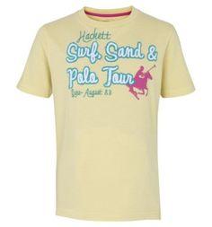 Hackett Polo Town 1002 Yellow Sale
