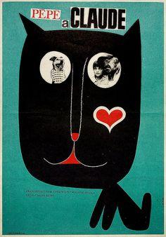 1968 Czech poster for The Two of Us (Claude Berri, France, 1967). Designer: Karel Vaca (scheduled via http://www.tailwindapp.com?utm_source=pinterest&utm_medium=twpin&utm_content=post53889260&utm_campaign=scheduler_attribution)