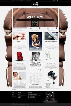 Kiwy by Pier Sandro Cancellara, via Behance #webdesign #layout