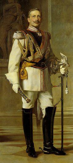 Kaiser Wilhelm II in Garde du Corps uniform