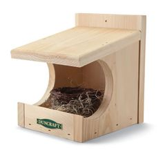 Dove and robin nest box