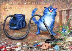 синие котики картинки - Поиск в Google