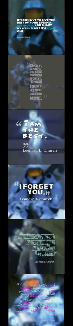 Church quotes, RVB