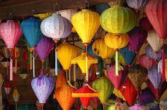 Lanternes à Hoi Han