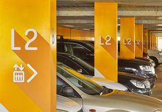 Westmead Hospital Car Park: A trusted wayfinding system — BrandCulture Hotel Signage, Park Signage, Directional Signage, Wayfinding Signage, Office Signage, Car Park Design, Parking Design, Signage Design, Environmental Graphics