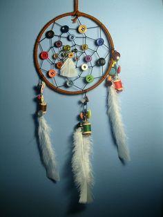Button Dream Catcher, via Flickr.