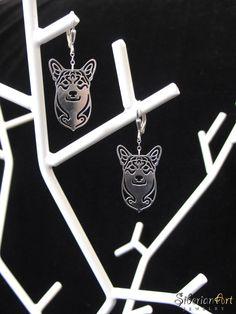 Pembroke Welsh Corgi Earrings!