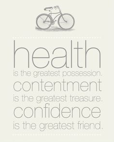 A Daily Dose of Fit: The Greatest Possession