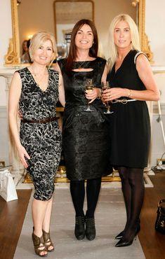 Siobhain Carnegie, Ailish Smith and Michelle Carnegie Irish, Formal Dresses, Lady, Fashion, Dresses For Formal, Moda, Irish Language, Formal Gowns, Fashion Styles