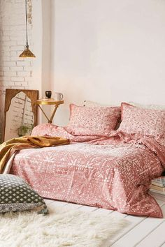 Drap trải giường tô điểm phòng ngủ